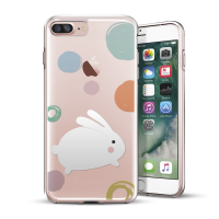 iPhone 5/6/7/Plus 原創保護殼:小白兔