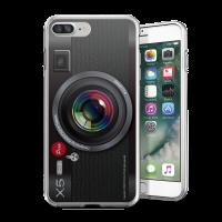 經典黑色相機 iPhone 耐衝擊防摔保護殼 獨家贈送蝴蝶結緞帶