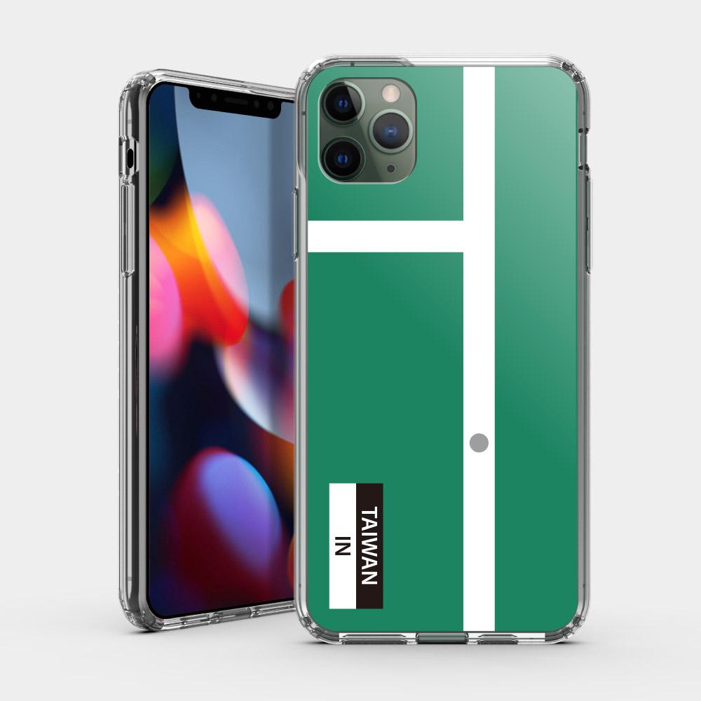 TAIWAN IN 羽球金牌紀念款 iPhone 耐衝擊保護殼