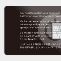 重新啟動 RESTART 電競滑鼠墊 餐墊