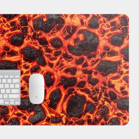 黑紅格紋 電競滑鼠墊 餐墊