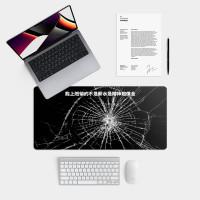 粉紫格紋 電競滑鼠墊 餐墊
