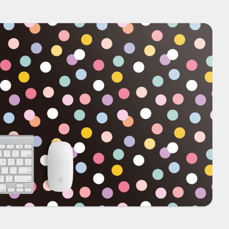 彩色圓點 電競滑鼠墊 餐墊