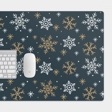 雪花 電競滑鼠墊 餐墊