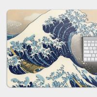 神奈川沖浪裏 電競滑鼠墊 餐墊