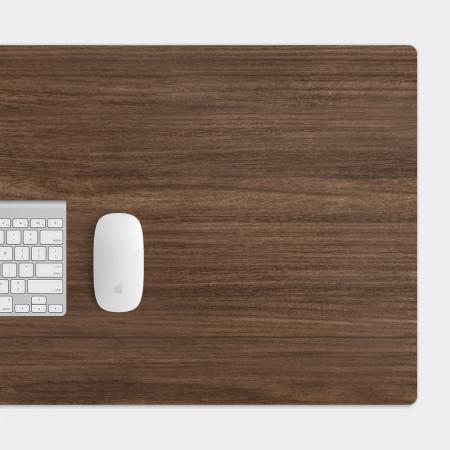 深色木紋 電競滑鼠墊 餐墊