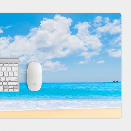 沙灘 天空 電競滑鼠墊 餐墊