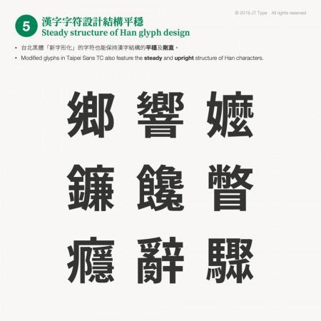 可商用的台北黑體