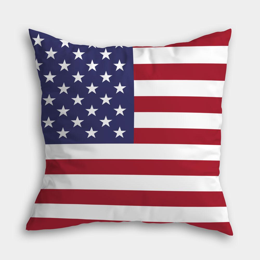 美國(可自選國家) 滿版雙面印刷客製化抱枕