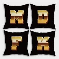 客製化英文字母 滿版雙面印刷客製化抱枕
