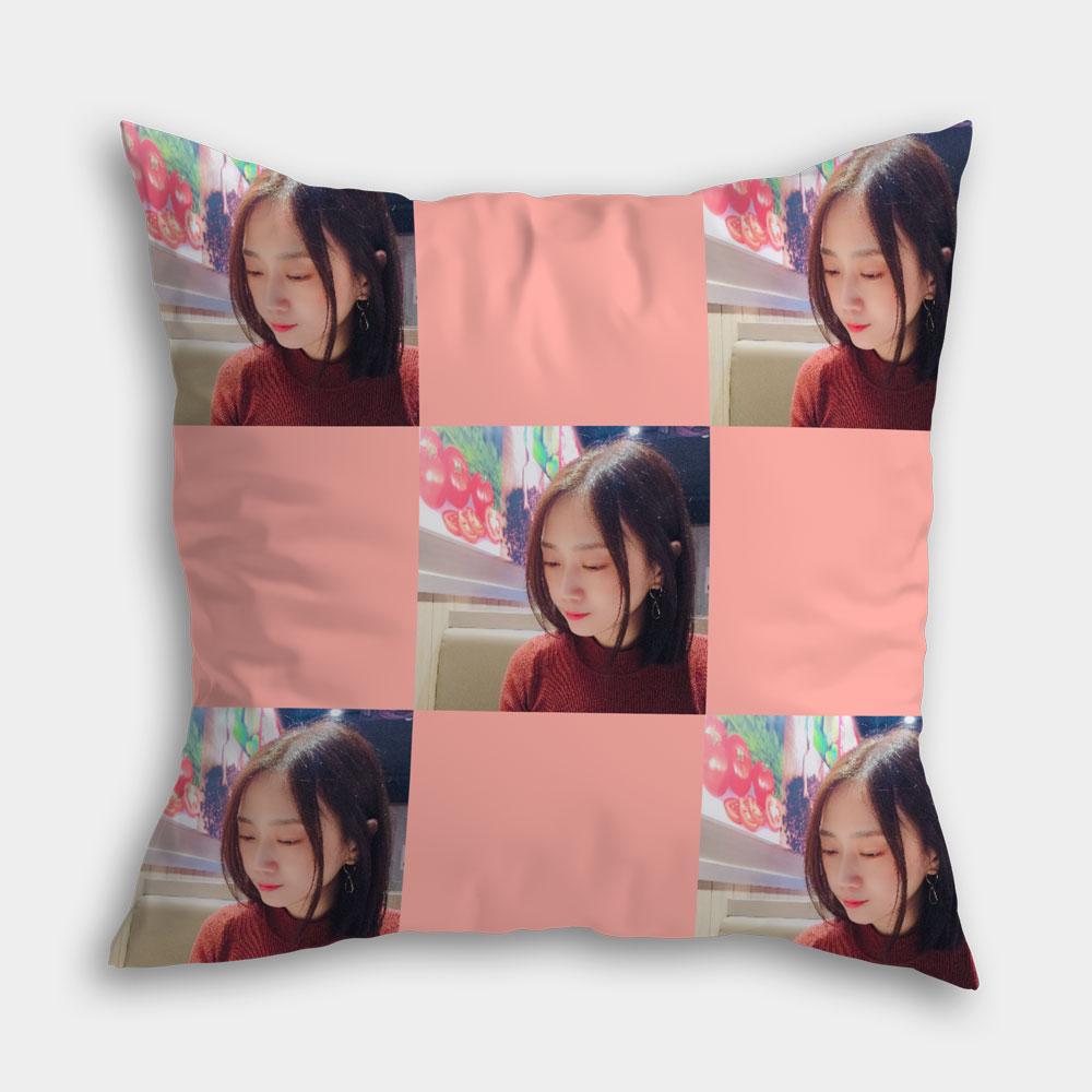 滿版雙面印刷客製化抱枕 使用手機上傳照片即可製作