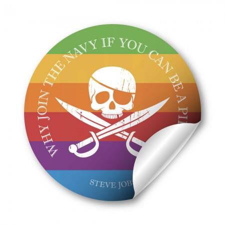 如果可以當海盜為什麼要加入海軍?44mm 胸章