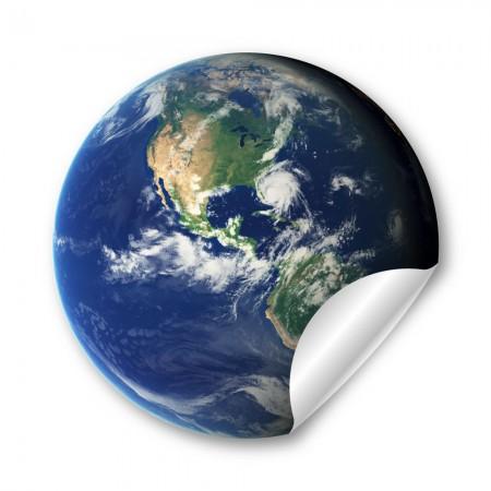 地球  44mm 胸章
