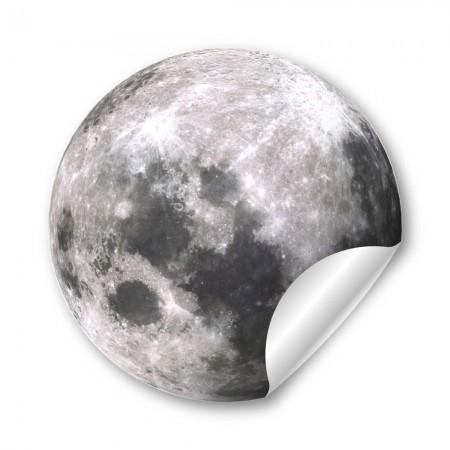月球  44mm 胸章
