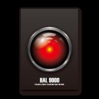 HAL 9000 輕量無框畫
