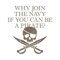 如果可以當海盜為什麼要加入海軍?  GEEK 潮 TEE