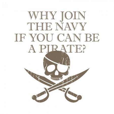 [CTRL+Z] 如果可以當海盜為什麼要加入海軍?