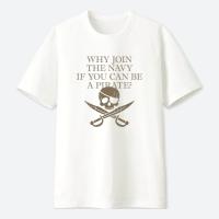 如果可以當海盜為什麼要加入海軍?  GEEK 潮 TEE 大人小孩共13種尺寸