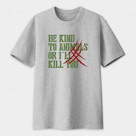 [FRAGILE] be kind to animals, or i'll kill you