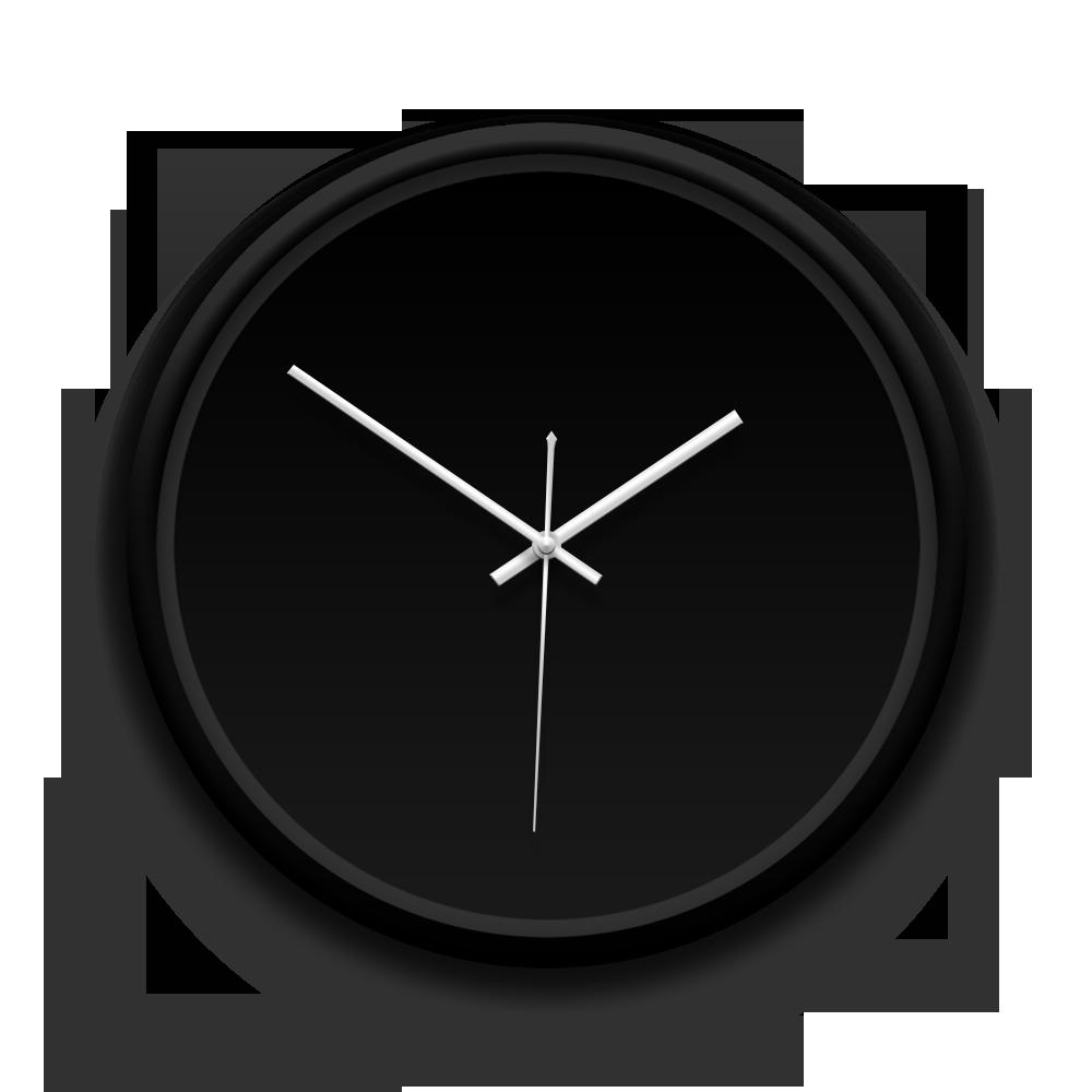 客製化黑框掛鐘 訂製獨一無二的個人化設計