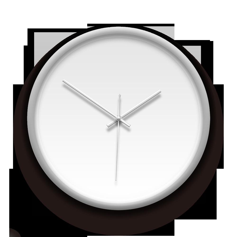 客製化銀框掛鐘