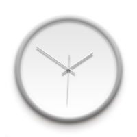 客製化銀框掛鐘 訂製獨一無二的個人化設計