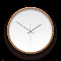 客製化木紋掛鐘 訂製獨一無二的個人化設計